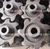 砂型で作る鉄のチェーン車輪