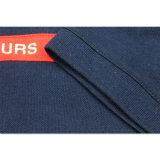 Людей хлопка конструкции способа новых классицистическая Pique рубашка 100% пола