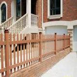 庭屋外の囲う200*200のための最上質WPCの塀