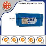Os miúdos dos produtos do bebê que limpam Wipes/molhados molharam tecidos