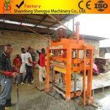 Macchina vuota concreta del blocchetto di vibrazione manuale della muffa di capacità elevata Qtj4-40b in Africa