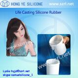 Borracha de silicone do líquido de RTV 2 para bonecas do sexo