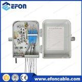 Caja de terminales de fibra óptica de 12 puertos Caja de conexiones FTTH (FDB-012B)