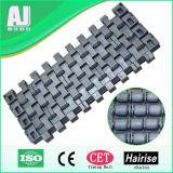 Lärmarmer hohe Leistungsfähigkeits-Walzen-Kugel-modularer Plastikriemen