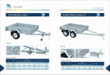 8FT x 5FT Hot Dipped Galvanised Box TrailerかFarm Trailer/Car Trailer/Utility Trailer