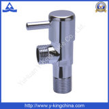 Válvula de ángulo Y-Rey de alta calidad de latón pulido (YD-5026)