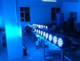 고품질 54X3w RGB 알루미늄 DJ 스트로브 빛