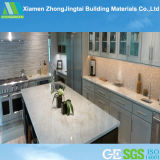 Small White Artificial Quartz Stone Bathroom Vanity Countertops