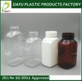 300ml Fles van de Geneeskunde van het huisdier de Plastic met Schroefdop