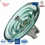 U550 275kn templado de vidrio aislante Suspensión disco IEC