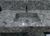 Dessus de vanité en matériau extérieur solide de Corian