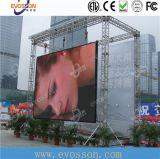 Alto impermeable restaurar la visualización de la señalización de la tarifa P12 LED para el alquiler