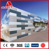Decoration en aluminium Wall Cladding Composition Panel (garantie d'an 15-20)