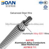 AACSR, Aluminiumlegierung-Leiter-Stahl verstärkt (ASTM B711)