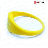Alta qualidade! Eu codifico Wristbands do silicone de Sli para eventos