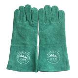 Industrielle Sicherheits-lederne Handschuhe für Schweißen
