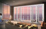 Moderne Außenaluminiumbi-Falz-Tür für Balkon