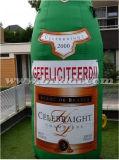 シャンペンの巨大で膨脹可能なびん、オランダの年齢K9051の膨脹可能なびんの気球
