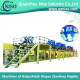 Het stabiele volledig-Servo Sanitaire Stootkussen die van de Controle Machine met Ce maken (hy800-SV)
