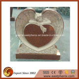 Griante/Marble europeo Stone Black Angel Monument/Tombstone/Gravestone/Headsone con Custom Design