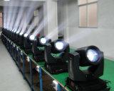 Primera tarifa que enciende la suficiente luz principal móvil de la viga de punto de 100%Durable 200W
