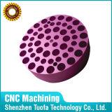 Aluminio / acero inoxidable galvanoplastia partes de procesamiento de mecanizado CNC