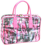 Form Girly Travel Toiletry Cosmetic Bag mit Handle