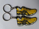 Alta qualità Plastic Promotional 3D Rubber Slipper Key Chain (KC-058)