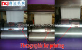 Фабрика бумажной машины автоматической ткани печати цвета лицевая