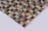 Emperador Light Mix Piedra de Cristal mosaico Cracked (CS126)