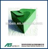 Rectángulo de tarjeta de papel del triángulo para el caramelo en muchos diseño