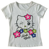 Modo Girl Baby T-Shirt in Children Clothes Apparel con Printingsgt-078