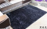 Modern House Design PVC Floor Shaggy Silky Polyester Carpet