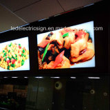 LED Light Box DisplayのためのレストランMenu Board Advertizing