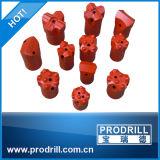 Felsen-Bohrung-sich verjüngendes Meißel-Bit des Hartmetall-34mm