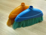 Sell quente 3Sudeste Asiático Model com Colorful Bristle Plastic Broom (HL-A206L)