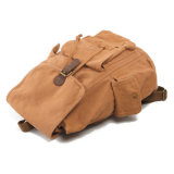 Gewaschener Segeltuch-Baumwollkursteilnehmer-Beutel 100% (RS-2106A)