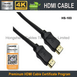 Cabo superior HDMI Kable do molde do PVC do produto novo