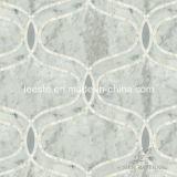 Waterjetモザイク、大理石のモザイクおよびモザイク模様