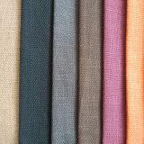 Geverfte Stof van het Kussen van de Polyester van de stoffering de TextielLinnen Geweven Decoratieve Bank