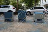 1600c de Ovens van de buis met 80mm Alumina Dia Buis (300mm het verwarmen streek) & VacuümFlenzen