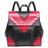 Echtes Leder wandert Schule-Beutel für Schulter Packbag Emg4670