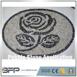 Guijarro normal de la piedra del río del brillo para el parque, suelo público, piedra de la decoración interior