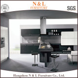 N及びL高品質の木の穀物の食器棚のFramelessのキャビネット(kc5030)