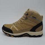 Sports extérieurs de chaussures d'hommes de cuir véritable augmentant les chaussures imperméables à l'eau