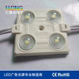 Módulo impermeable de 0.72W 5050 LED con la lente