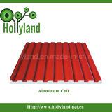 Revestido & gravou a folha de alumínio da bobina (ALC1105)