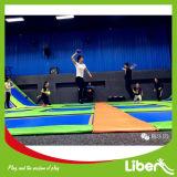 Sosta dell'interno del trampolino di colore facoltativo con il trampolino olimpico