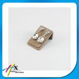 De kleine Houder van de Vertoning van de Oorring van het Metaal voor de Oorringen van de Manier van Juwelen