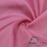Agua y de la ropa de deportes tela tejida chaqueta al aire libre Viento-Resistente 100% del poliester del telar jacquar de la tela escocesa abajo (53090)